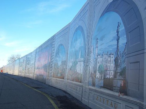 The Portsmouth Ohio Flood Wall Murals This Is The Most