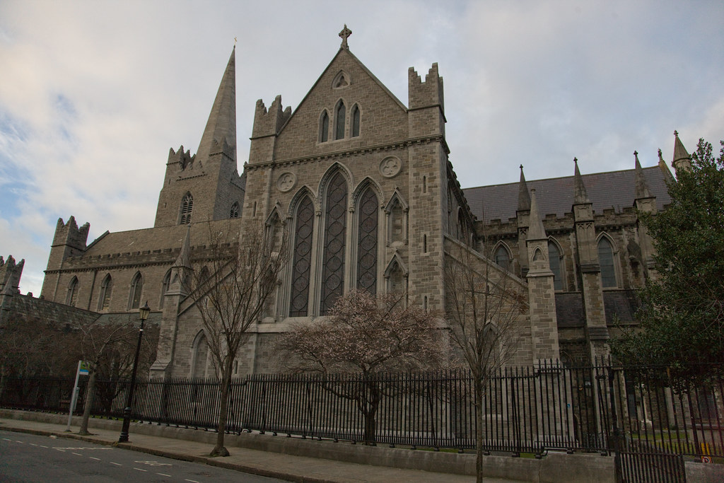 St Patricks Cathedral Is The Largest Church In Ireland