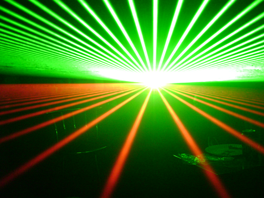 Lasers For This Pic I Was Crouched Down And Positioned