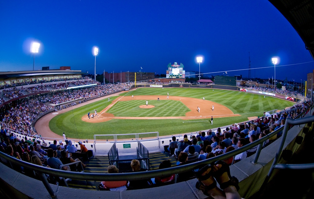 Dragons Versus Loons At Dusk Night Game Between The