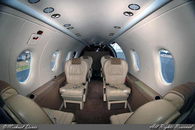 Private Pilatus PC 12 N452MD Cabin A Look At The