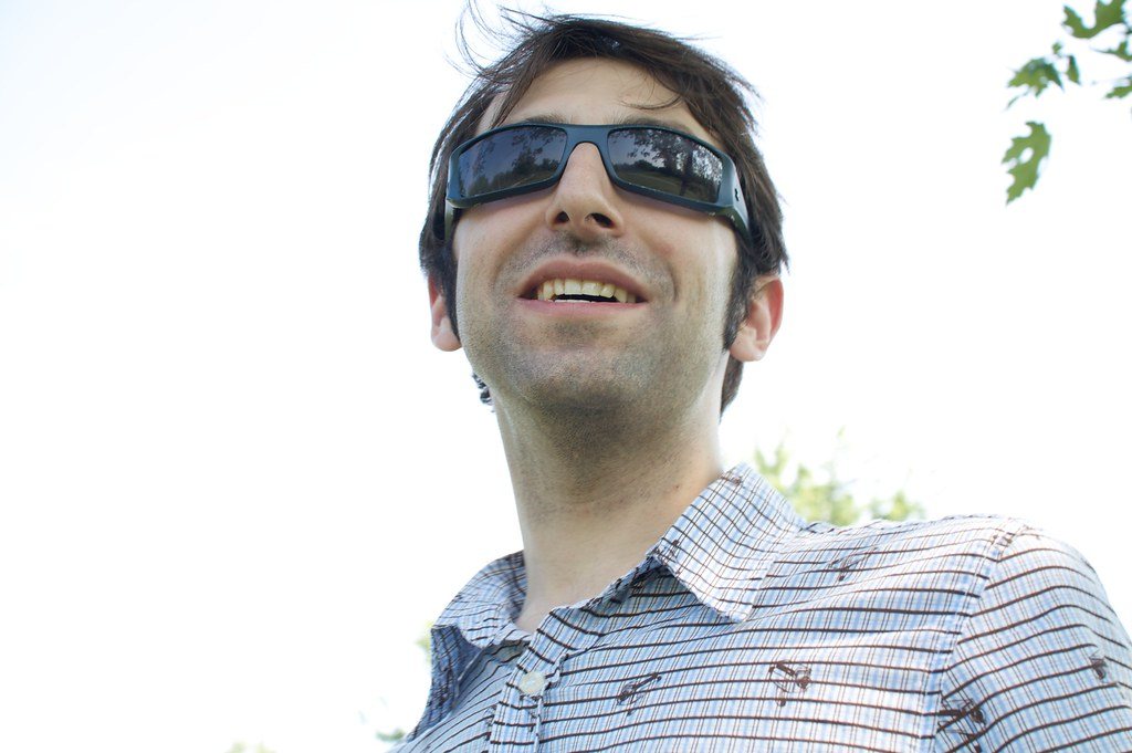 Mike With His Cool Guy Shades Like Jersey Cool