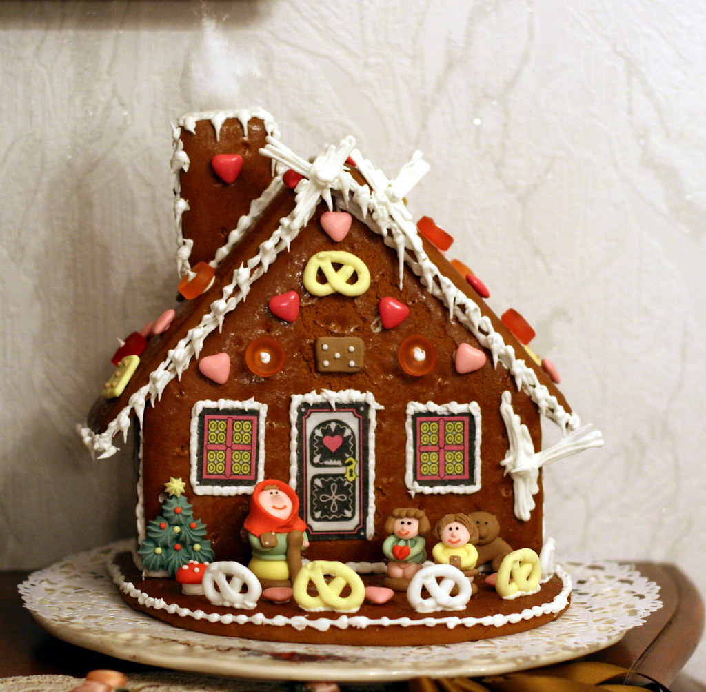Grinch Gingerbread House