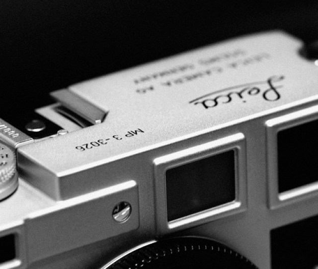 Leica Mp 3 Lhsa Special Edition Chrome Finish By Sugoi L