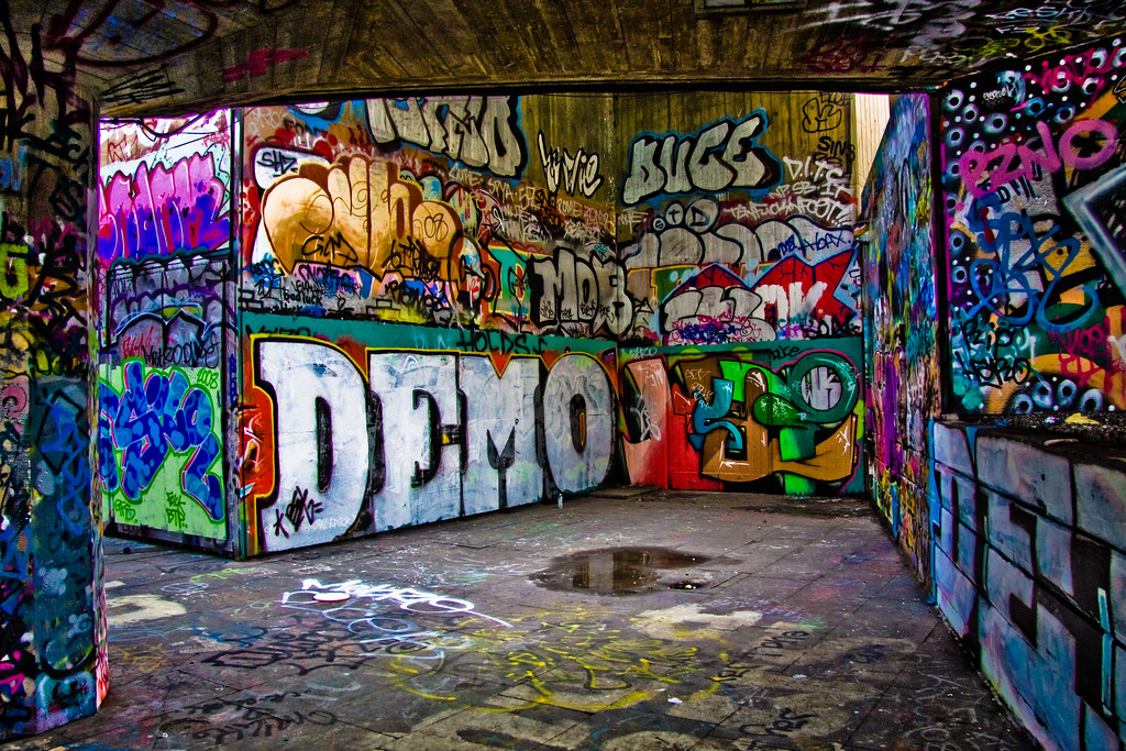 Graffiti Demo More Graffiti From Londons South Bank
