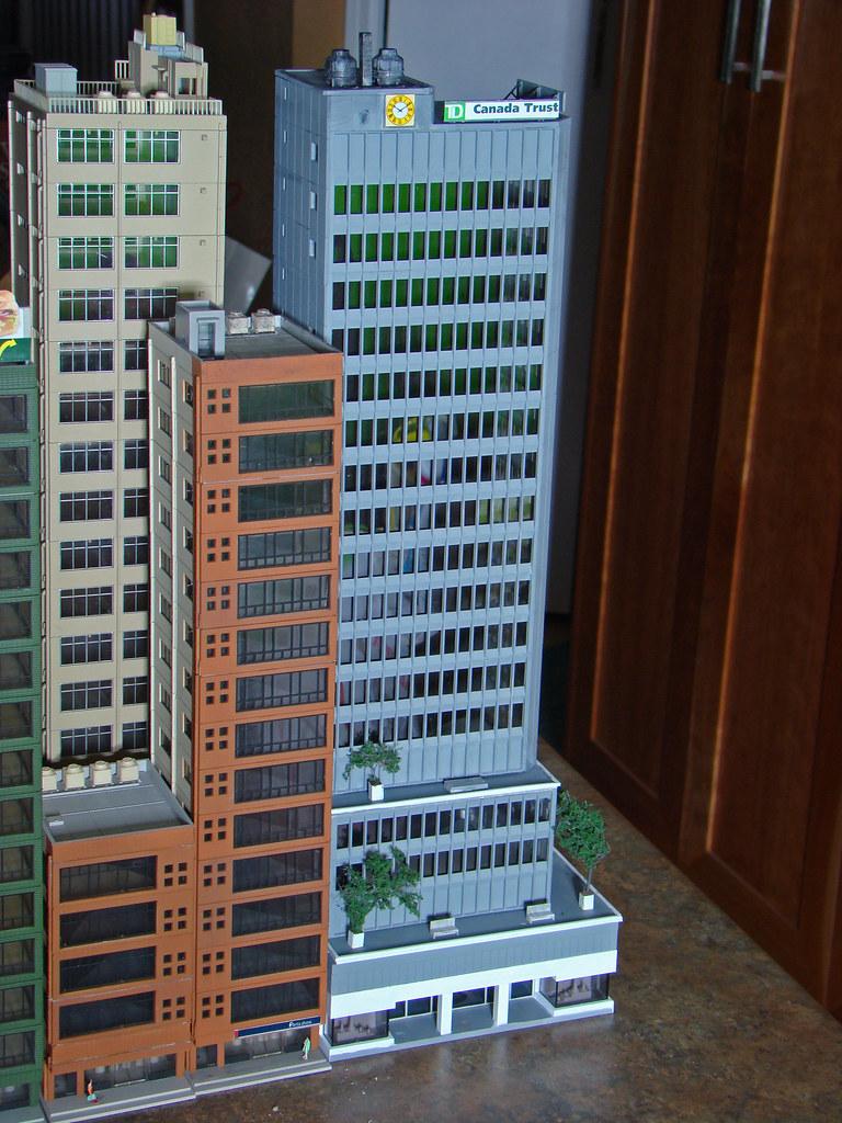 Greenmax Skyscraper N Scale Build Up Greenmax High Rise