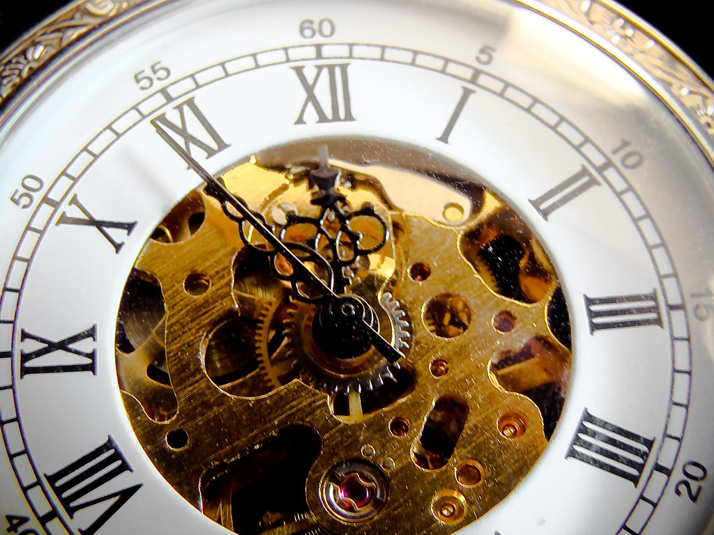 Time Is Ticking Out Wake Up And Smell The Coffee