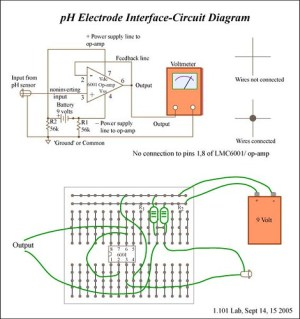 pH Electrode Interface  Circuit Diagram | Circuit