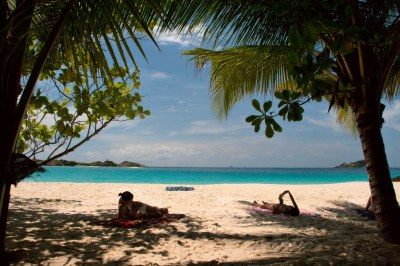 Tropical view at Redang Island | The view from the porch ...