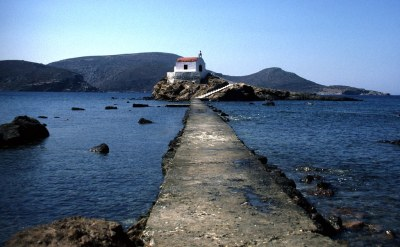 leros island chapel | Not quite your Mama Mia - but one of ...