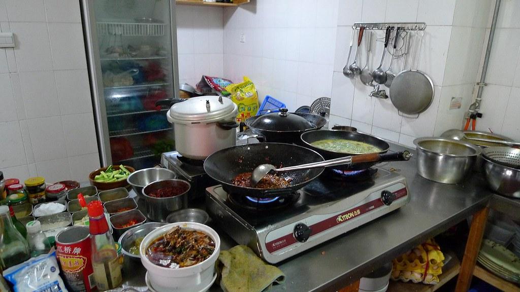 Chinese Restaurant Kitchen David Flickr