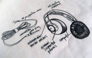 thing a day 9: diagram headphones | labeling this diagram