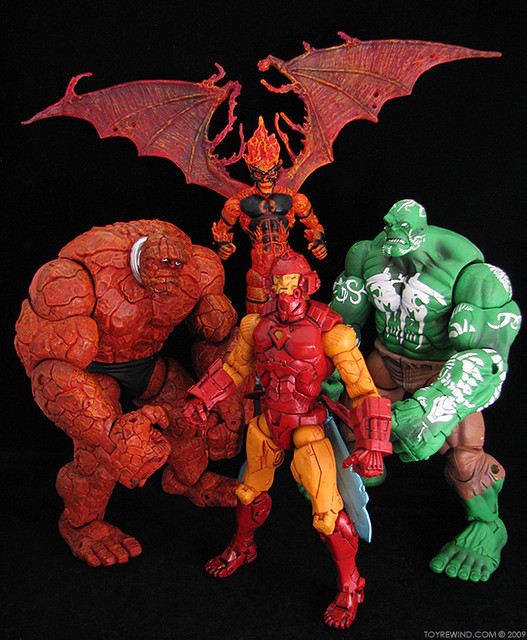 Marvel Legends House Of M The It The Inhuman Torch