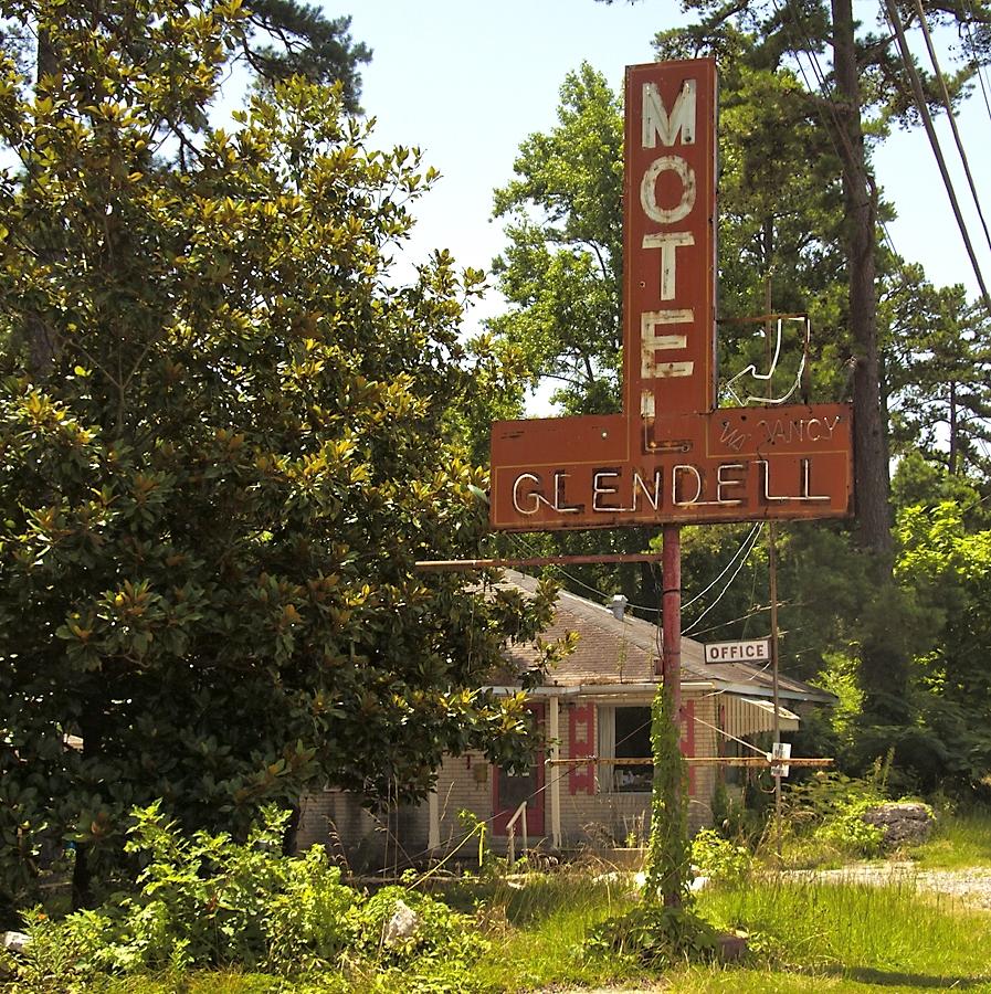 Motel Glendell - Hot Springs, Arkansas U.S.A. - July 8, 2008