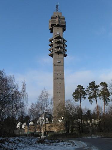 Kakn 228 Stornet The Kakn 228 S Tower In Stockholm Between 1967
