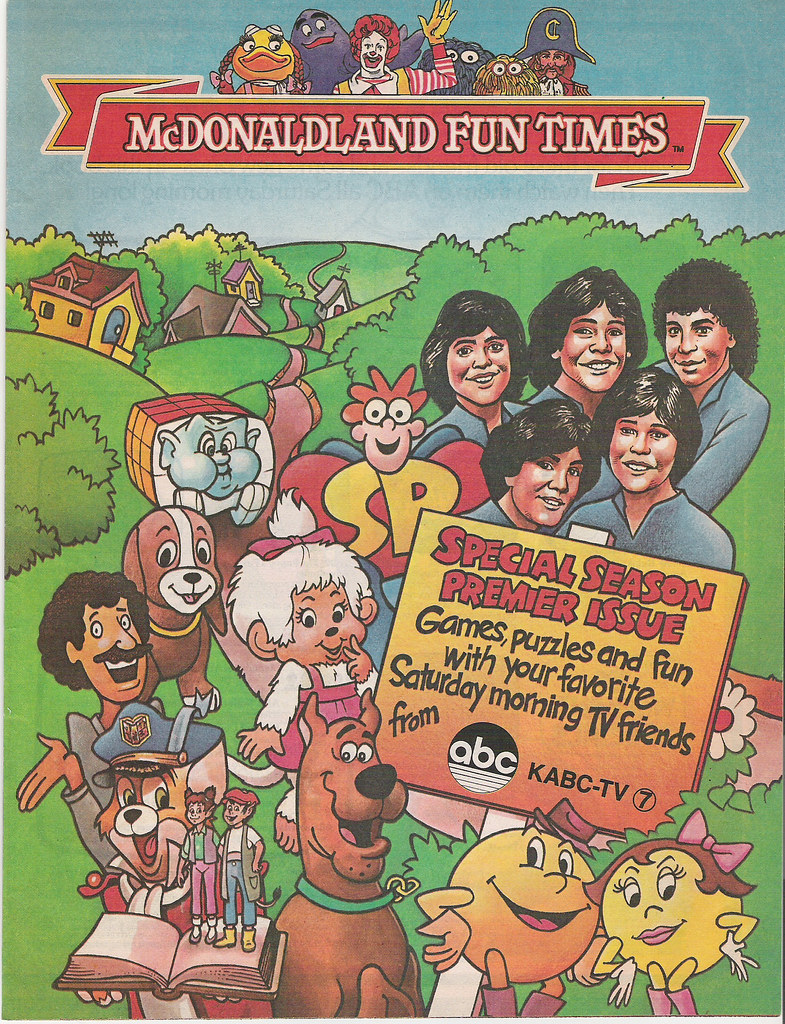 ABC Saturday Morning Cartoon Preview 1983 When I Was A