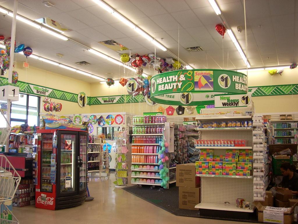 Inside Family Dollar Store