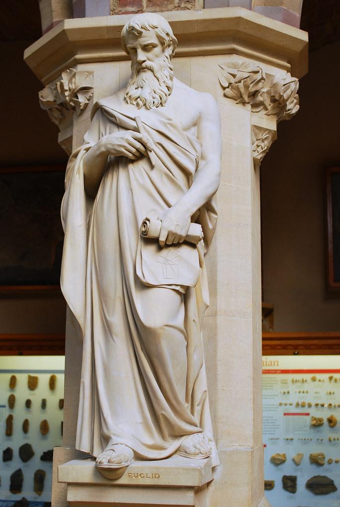 Dsc 14860035 Euclid Statue University Museum Of Natural Hi