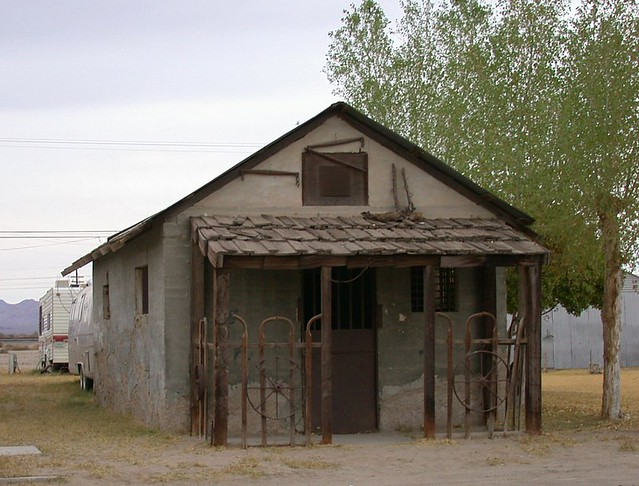 Niland Ca Jail 1078b They Ve Also Preserved An Old