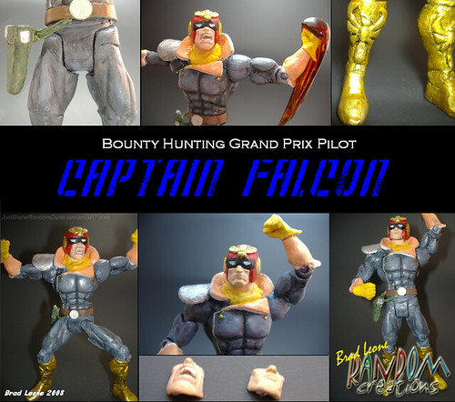 Custom Captain Falcon Figure Have You Ever Wished Some Of Flickr