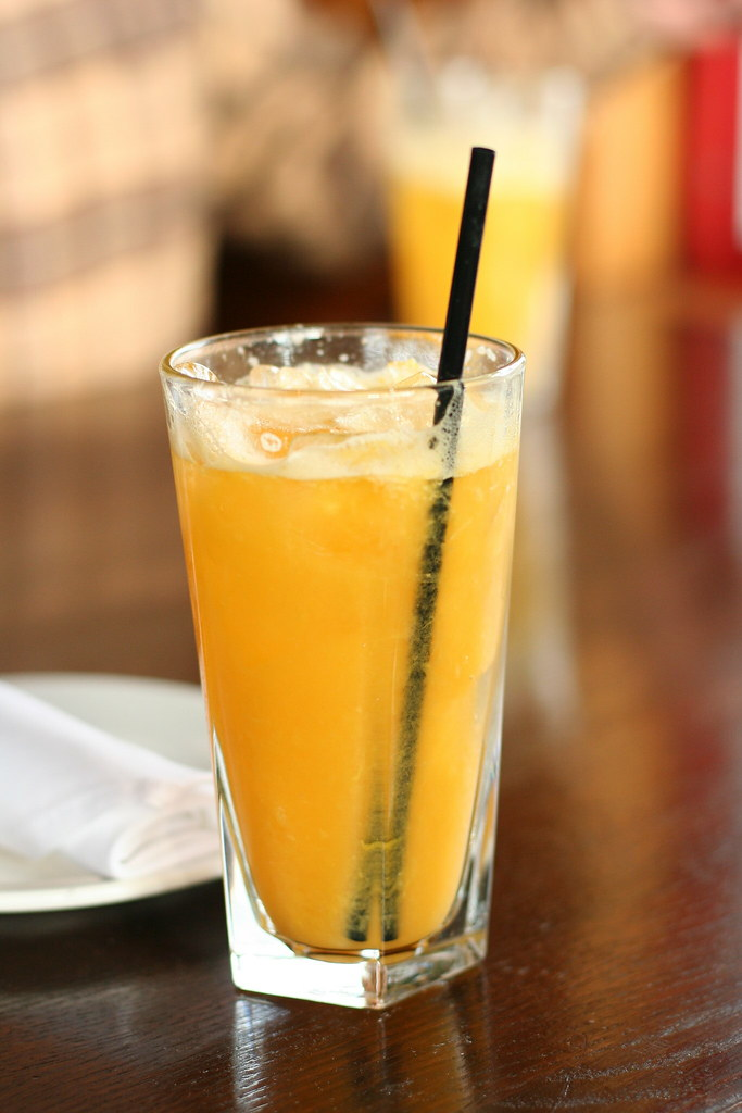 Freshly Squeezed Orange Juice From The Keg Steakhouse