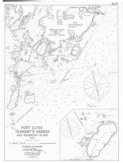 Port Clyde [and] Tennant's Harbor and Monhegan Island, Mai ...