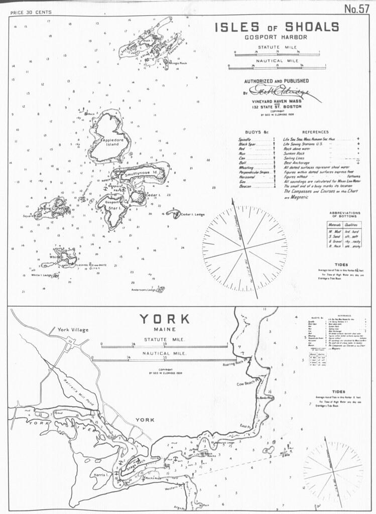 Isles Of Shoals Gosport Harbor And York Maine Full