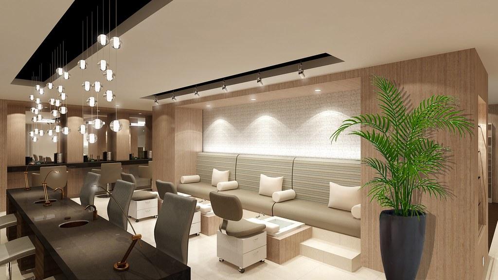 The Palms Hotel Amp Spa Manicure Pedicure Area The Palms
