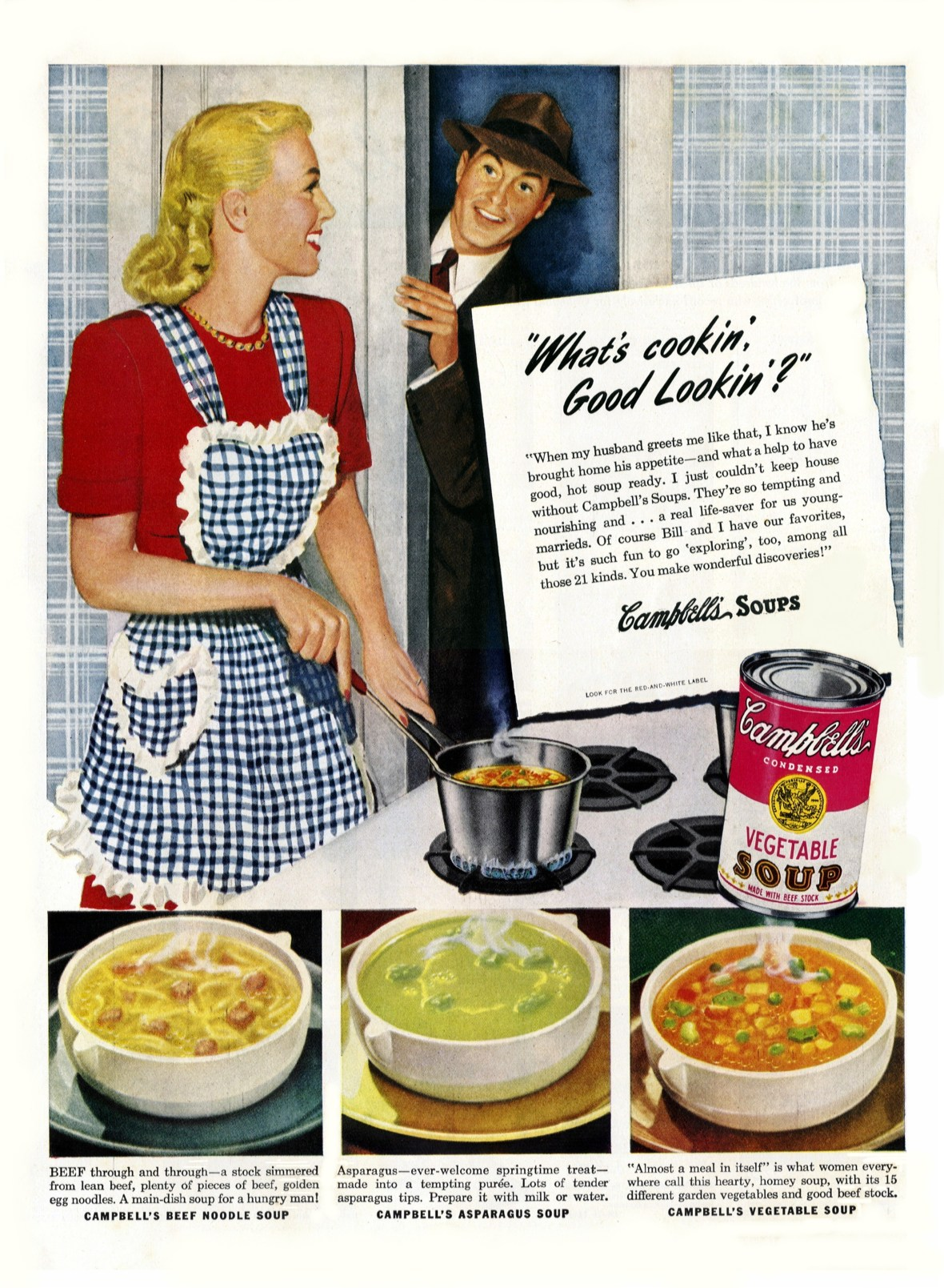 Campbell's Soup - published in Better Homes and Gardens - October 1947