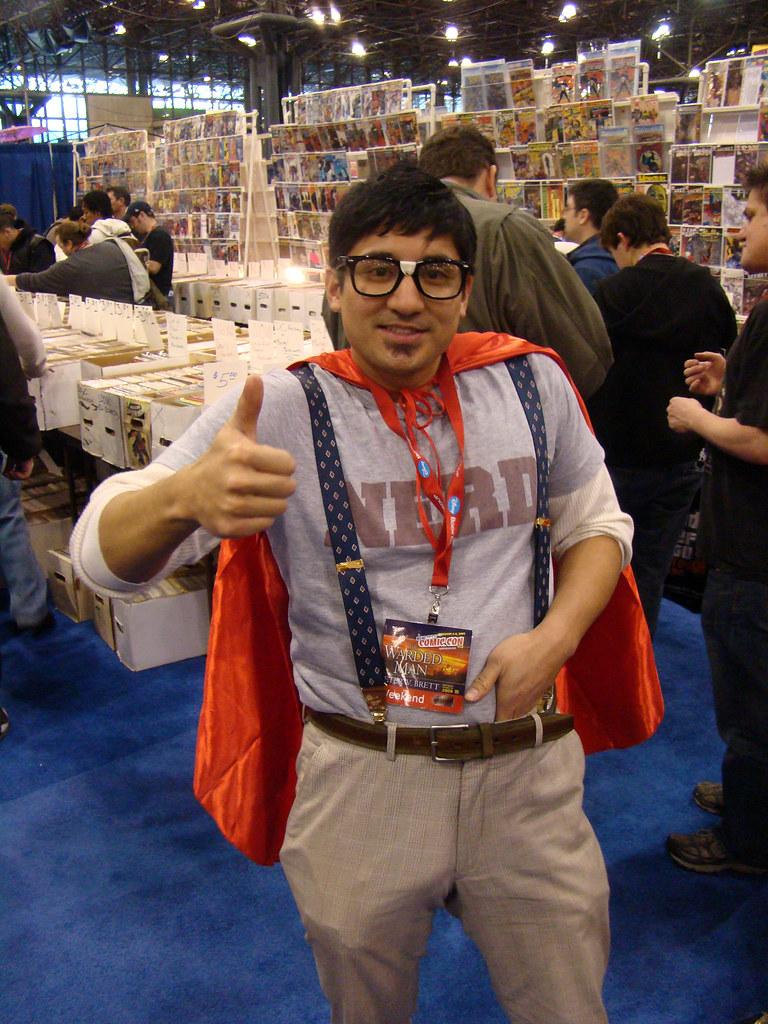 Supernerd Nerd New York Comic Con Saturday February7th