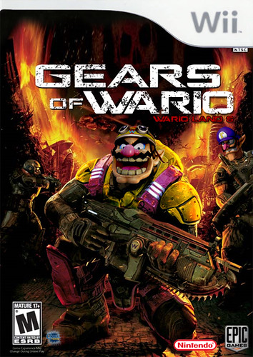 Gears Of Wario Boxart The Most Epic Of Them All Flickr