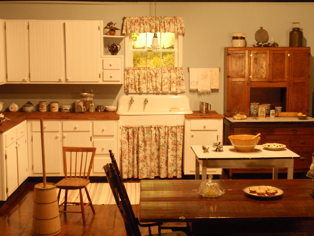The Waltons Kitchen One Of The Sets Inside Of The