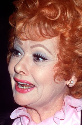 Lucille Ball Perhaps The Most Famous Redhead Of Them All