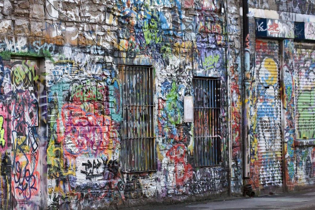 The U2 Graffiti Wall At Windmill Lane Studios The U2