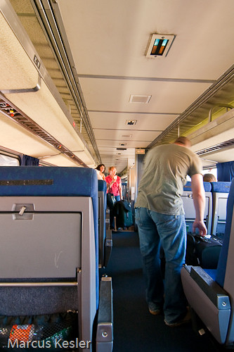 Traveling In Coach Coach Class Inside The Heartland