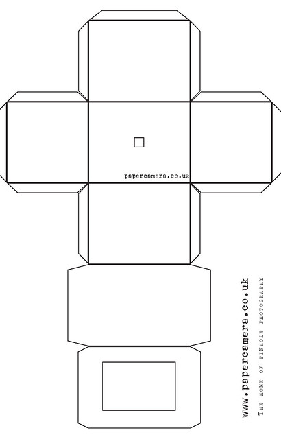 Paper Camera Template This Is The Template For The