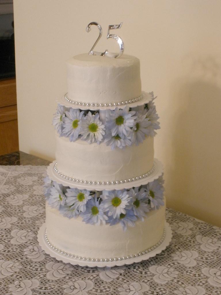 Barnes 25th Anniversary Cake 3 Tier Cake 6 Red Velvet