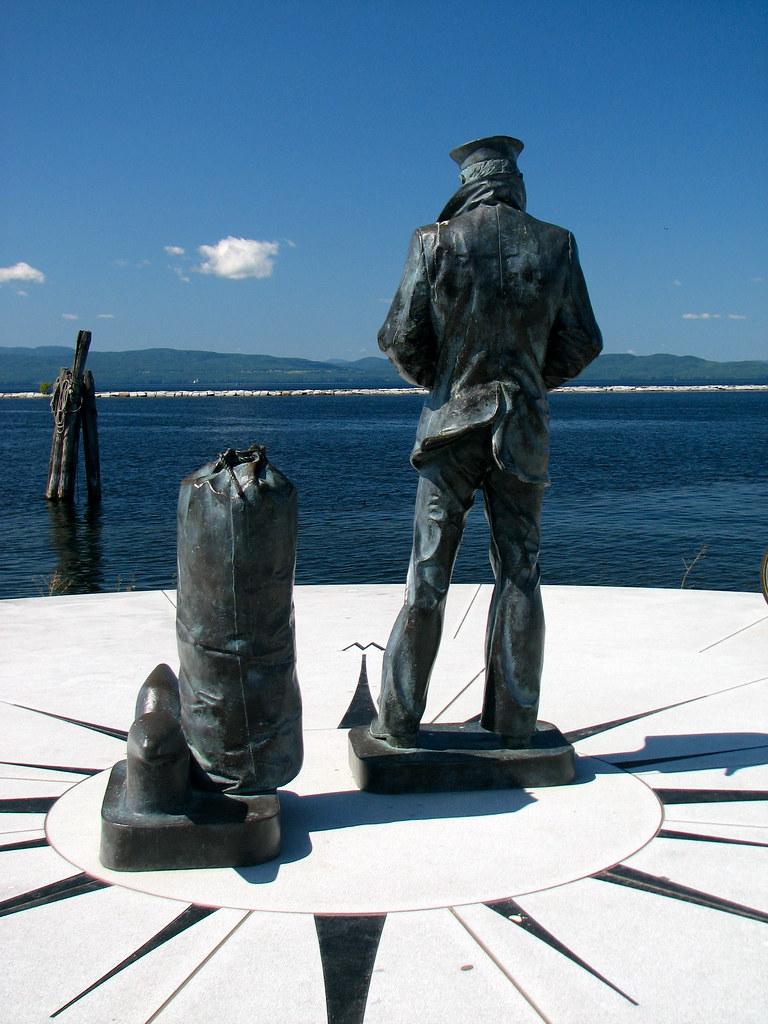 The Lone Sailor Lake Champlain Navy Memorial 2005 Flickr