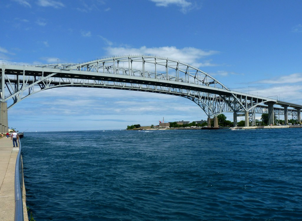 Blue Water Bridges Explore The Blue Water Bridge Is A