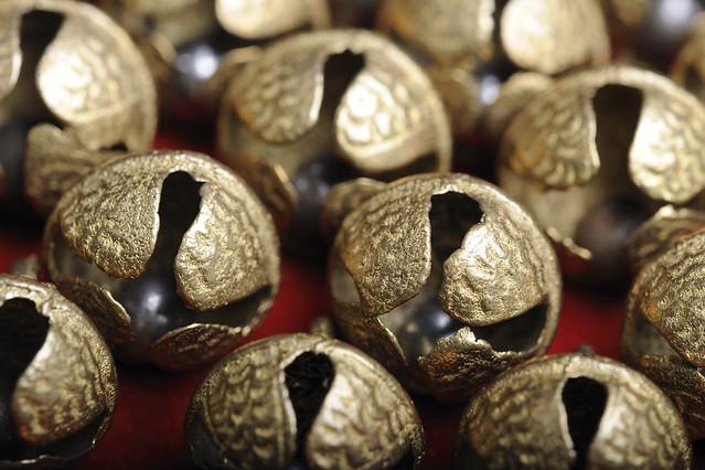 Salangai Bells Tied To Ankles Of Bharatnatyam Dancers