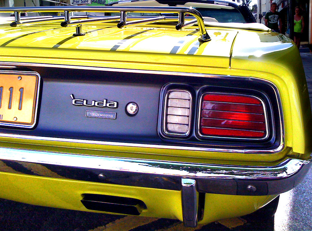 Plymouth Barracuda Tail Lights An Early 1970s Quot Third