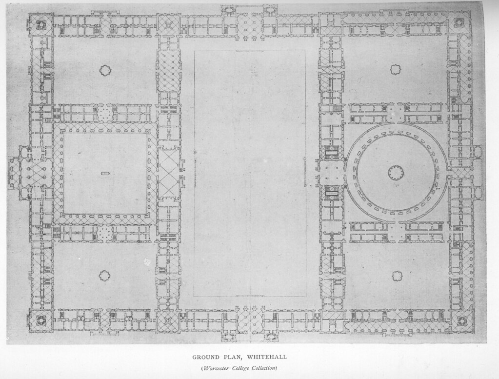 Whitehall Palace: Plan Of Ground Floor