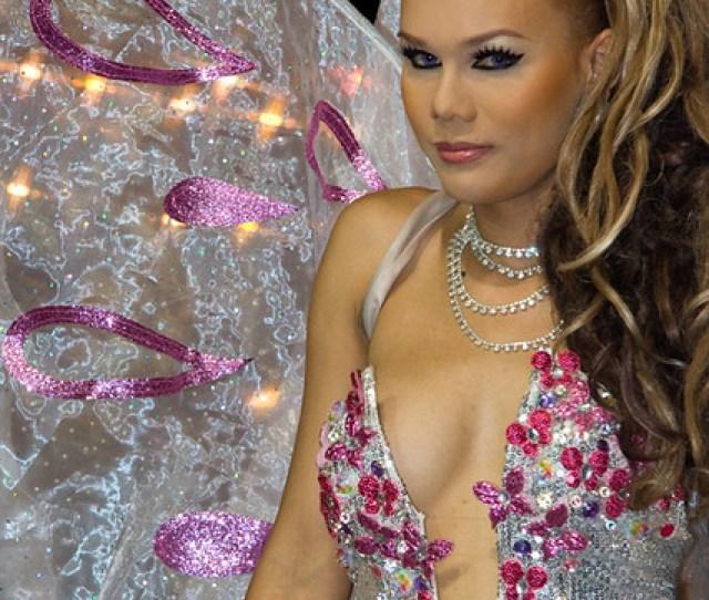 A Ladyboy At Tiffany Cabaret In Pattaya By Raddanesh