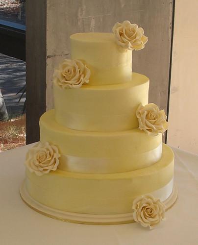 Butter Cream Wedding Cake 5 8 11 Lemon Butter Cake 14