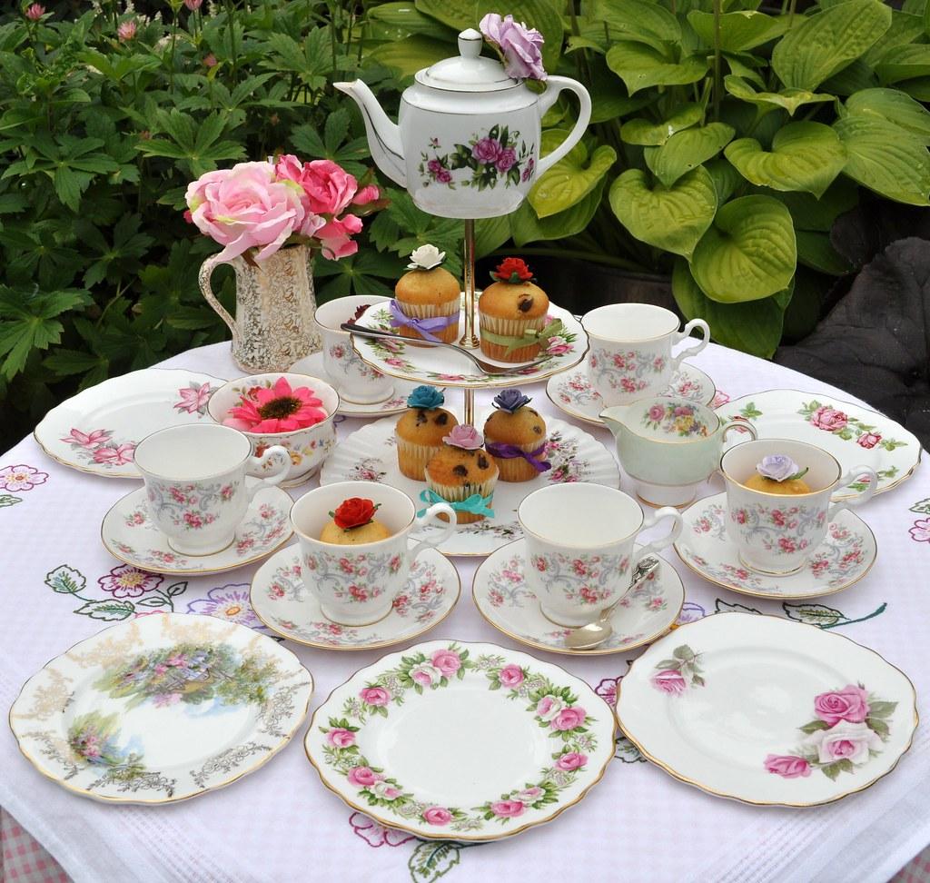 English Tea Party Desserts