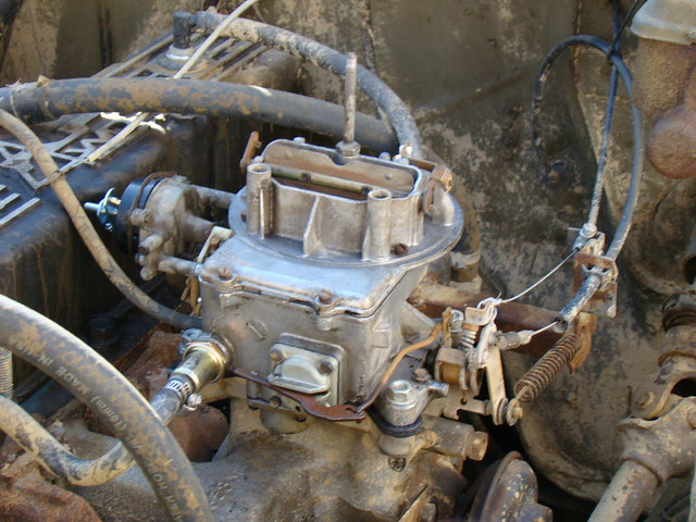 Rebuilt Motorcraft 2100 Carb | Spring time is here, and time… | Flickr