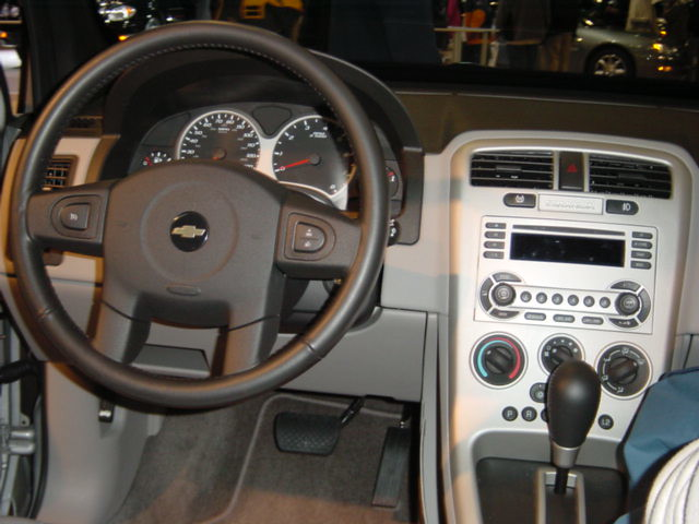 2005 Chevy Equinox Interior The Inside Of The Then New