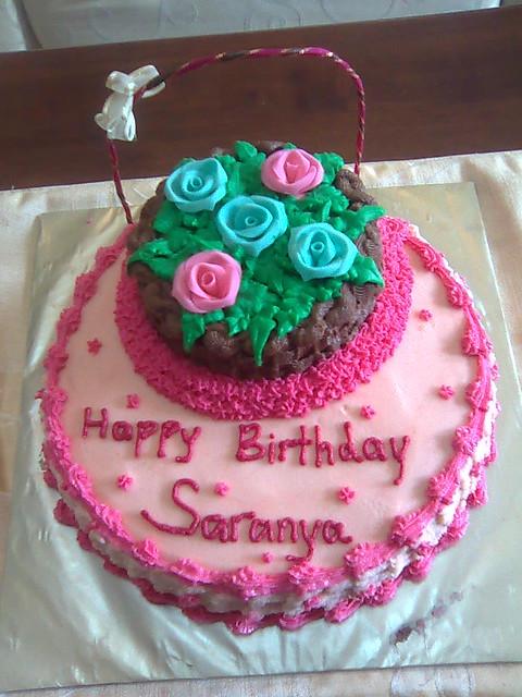 Saranya Pink Swan Vegetarian Cakes Flickr