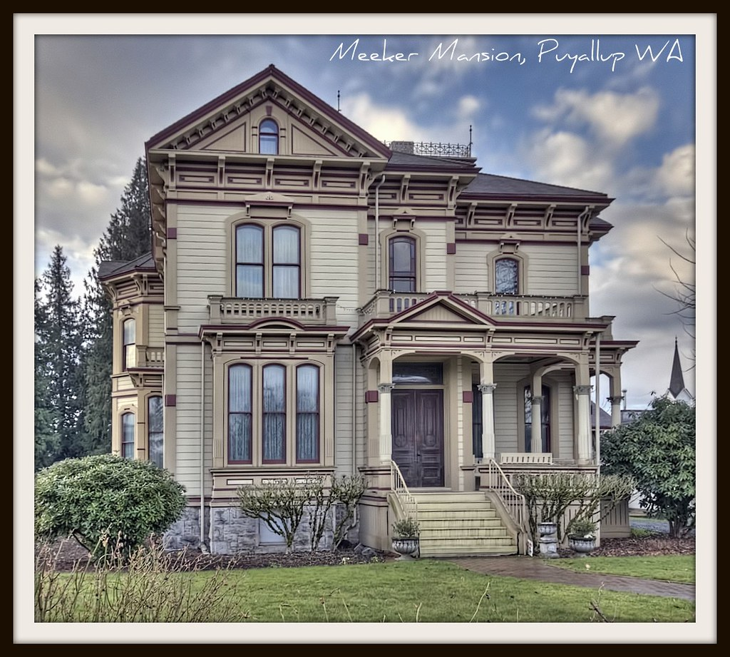 Meeker Mansion Puyallup WA 17 Room Victorian Manion