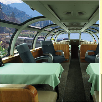 Train Chartering The Puget Sound Private Rail Car Dome L